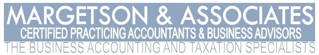 Margetson and Associates certified practicing accountants and business advisors. The business accounting and taxation specialists